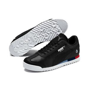 Details about Junior's Puma BMW MMS Motor Sport Roma Leather Sneakers  Black306434 01