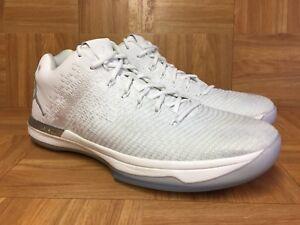 055e0674384f59 RARE🔥 Nike Air Jordan XXXI 31 Low Pure Platinum Silver White Sz 13 ...