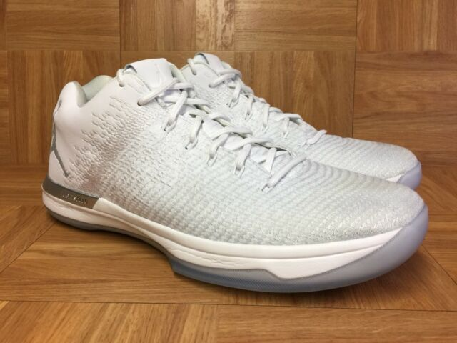 new product 6c91c e0014 RARE🔥 Nike Air Jordan XXXI 31 Low Pure Platinum Silver White Sz 13  897564-100