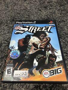NFL Street (Sony PlayStation 2, 2004) CIB Tested