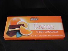 Boehme dark chocolate 4 x 3.5 oz with Orange cream filling