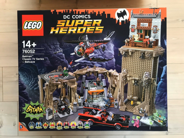 Lego Super heroes, 76052 - Klassisk Batman - Bathulen, Ny…