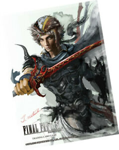 Final Fantasy Tcg Sleeve Ffii Firion  - BRAND NEW