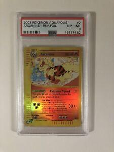 Pokemon-Aquapolis-Arcanine-Reverse-Holo-2-147-PSA-8