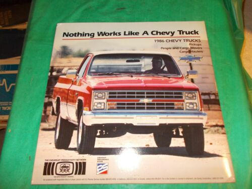 1986 CHEVROLET TRUCKS ORIGINAL TRAINING DISC SET APPEARS TO NEVER BEEN USED!