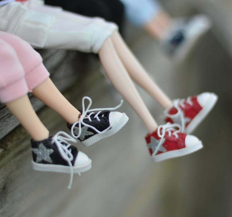 Sneakers for Blythe// Pullip// Azone// Licca//Doll Athletic Shoes// OMD B46