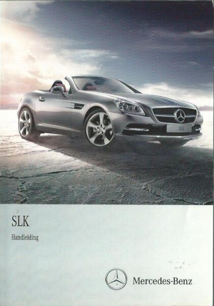 100% Vero Mercedes Slk-classe 172 Handleiding 2011 Manuale Instructieboekje Ba-itung Instructieboekje Ba Imballaggio Di Marca Nominata