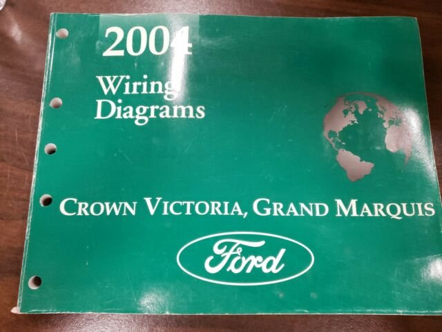 Ford 2004 Crown Victoria Grand Marquis Wiring Diagrams