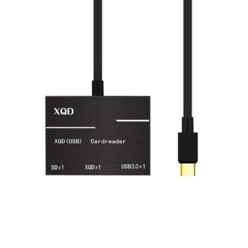 XQD Card Reader SD Card Reader high Speed Card Reader Type-C Connector USB3.0HUB