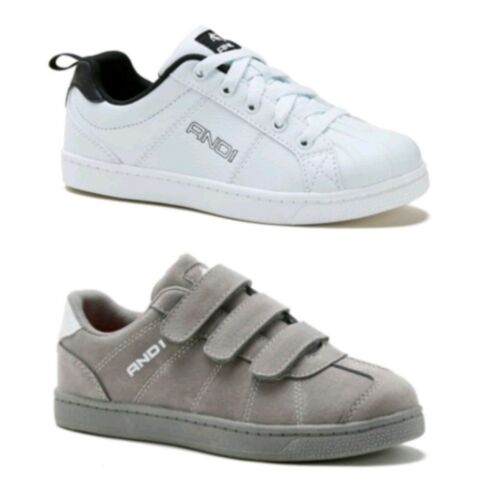 And 1 Youth Boy/'s White or Gray Athletic Casual Low Top Sneakers Shoes 13-6