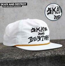 3e2dce46f36 item 5 Thrasher Magazine SKATE AND DESTROY PUFF INK Snapback Skateboard Hat  WHITE -Thrasher Magazine SKATE AND DESTROY PUFF INK Snapback Skateboard Hat  ...