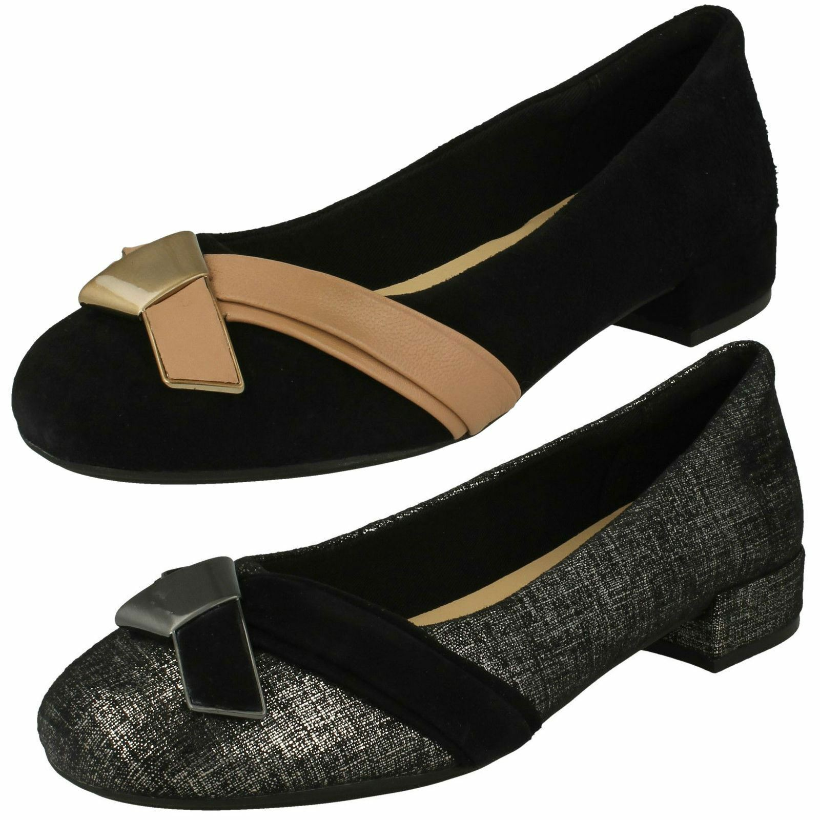 Damas Zapatos Clarks Inteligente Cruz detalle 'rosadobella 'rosadobella 'rosadobella Moon'  compras en linea