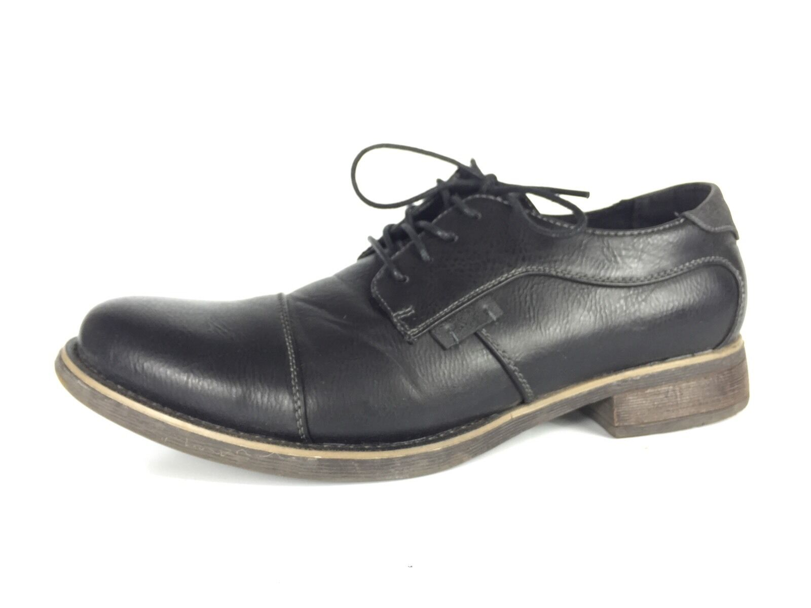 Madden Black M-Bully Men's Black Madden Dress Shoes Size 8.5 a88faa
