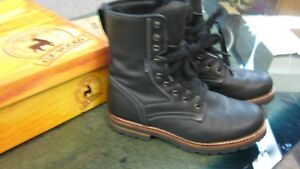 b995c0e8ac9 Details about Elk Woods Men's Black Waterproof Work Boot oil Slip Resistant  leather size 11