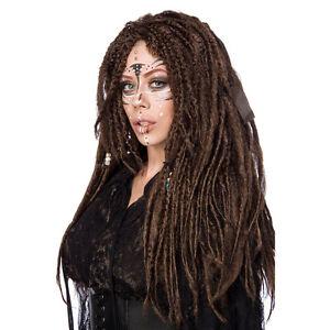 Voodoo Sorcière Perruque Pour Femme Cheveux