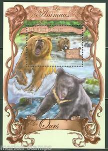 Guinee-2013-LES-ANIMAUX-Bear-SOUVENIR-SHEET-Comme-neuf-jamais-a-charniere