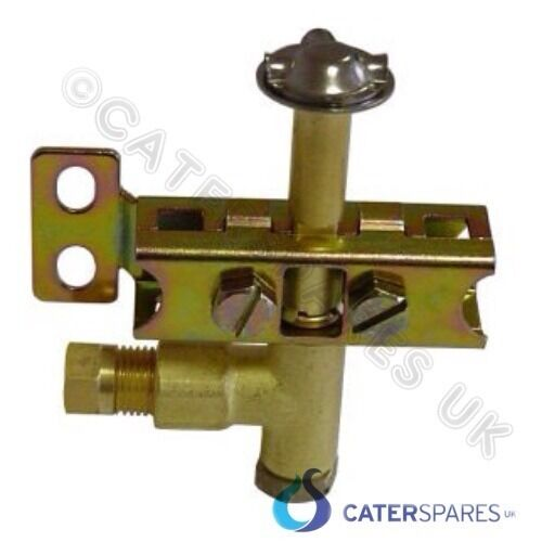 UNIVERSAL SIDE ENTRY GAS PILOT ASSEMBLY 6MM NATURAL OR LPG GAS 3 WAY LP OR NAT