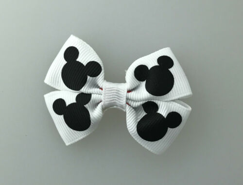 Mickey Mouse Bow with Alligator Clip