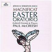 Paul mccreesh - Magnificat/Oster-Oratorium /4 - cd Johann Sebastian Bach-Bach