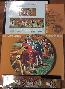 1970-captain-cook-bicentenary-Stamp-Pack-MUH