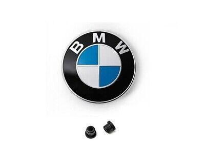 Original BMW Emblem Motorhaube 82mm mit Tüllen BMW 1er E87 E88