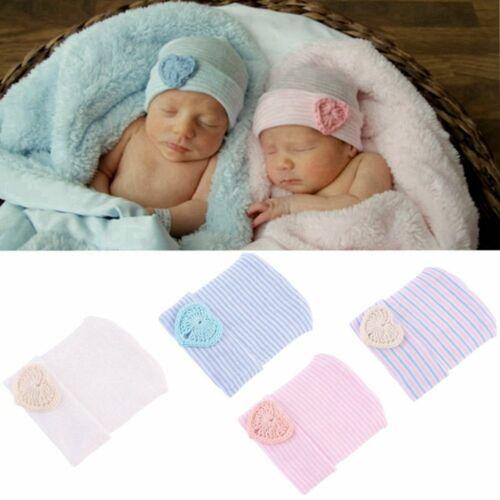 gestreifte mütze weich warm bunte baby liebe herz neugeborene hut krankenhaus