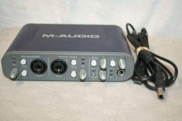 M-Audio Fast Track Pro Digital Recording Interface w/ USB Cable