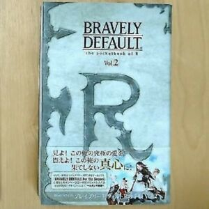 Bravely-default-R-039-s-notebook-Vol-2-used