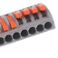 thumbnail 8 - 2/3/4/5/8 Way Reusable Spring Lever Terminal Block Electric Cable Wire Connector