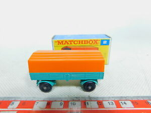 By350-0-5-MATCHBOX-N-2-rimorchio-trailer-MERCEDES-per-camion-molto-bene-OVP