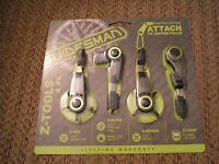 Guidesman Z Tools 4 Pack - Attach To Zipper Pulls Z-hex, Z-blade....