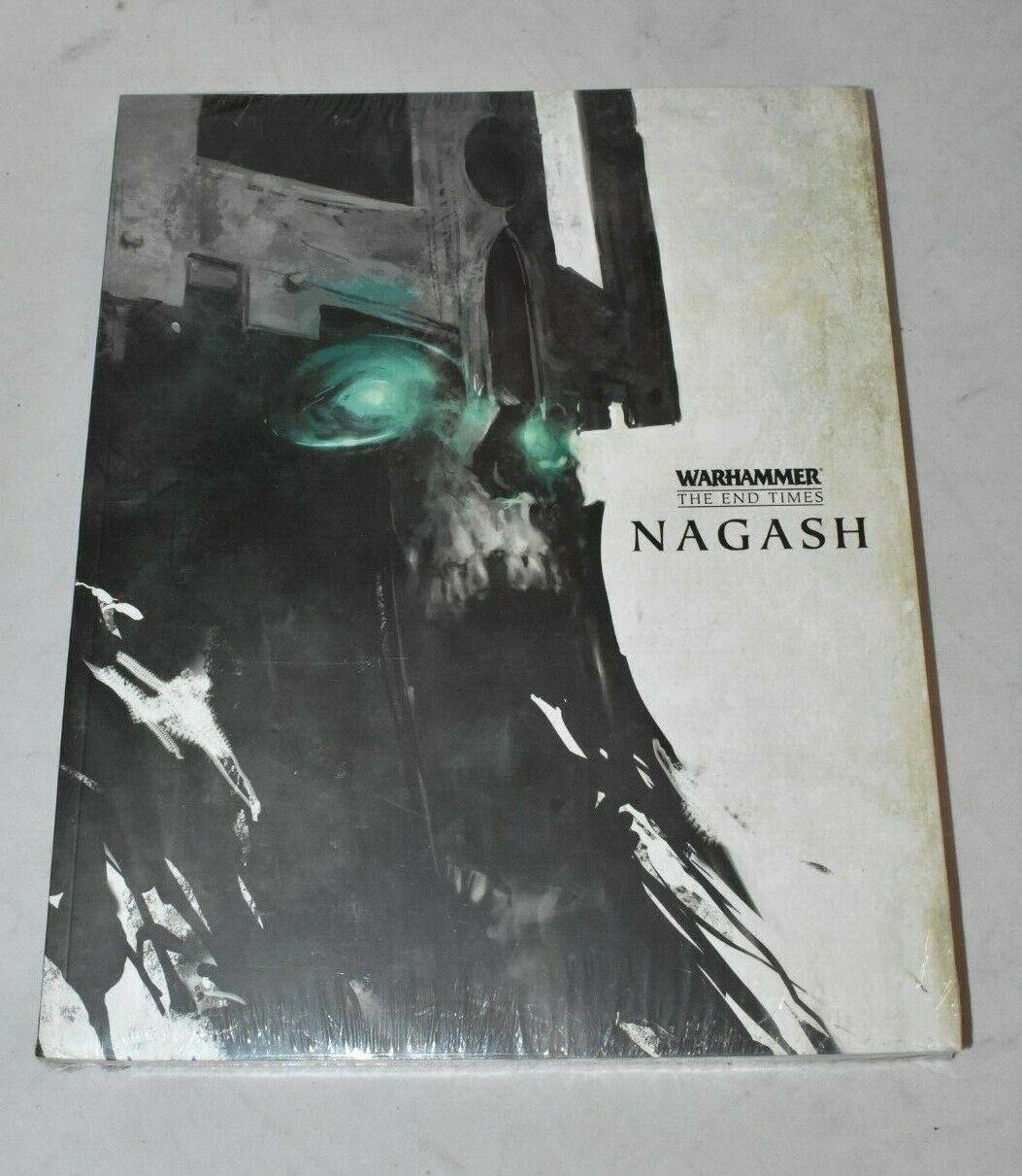 Nuevo Warhammer el final de los tiempos-libro Nagash volumen 1 y 2 Sellado del libro en rústica