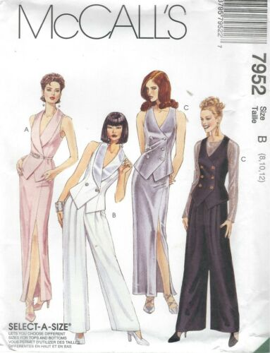 McCall/'s 7952 Misses/' Vest Pants and Skirt *Compare @ $8.99  Sewing Pattern