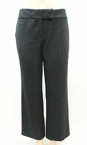 a0e91c6b2e Image is loading Covington-Petite-Grey-Straight-Fit-Trousers-Dress-Pants-