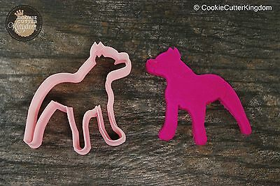 Custom Pitbull Cookie Cutter Personalized for your Pet!