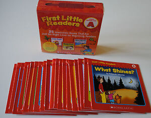 Lot-25-Level-A-First-Little-Easy-Readers-BOX-SET-Kindergarten-Grade-1-Homeschool