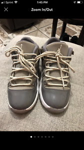 new concept 923d9 eee26 Details about Jordan 11 Retro Low Little Kids 505835-003 Cool Grey White  Shoes Youth Size 2Y