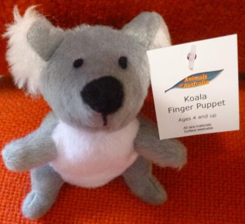AUSTRALIAN ANIMAL FUNDRAISER GIFT PENGUIN Soft Material FINGER PUPPET