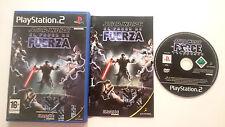 STAR WARS EL PODER DE LA FUERZA PLAYSTATION 2 PS2 PS1 PS2 PAL ESPAÑA