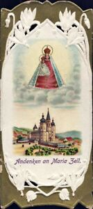 Mary-Zell-Pilgrimage-Holy-Icon-Devotional-Picture-Austria-Coloured-M-5927