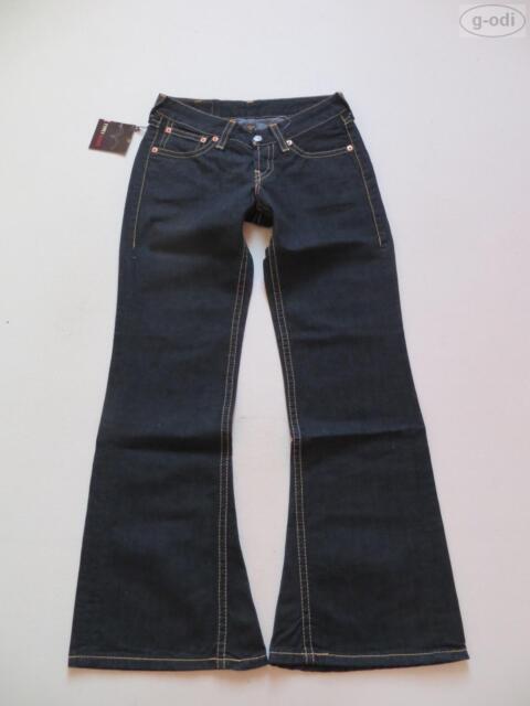 Levi's® 927 Schlag Jeans Hose, W 30 /L 32 NEU ! Type 1 Black Denim, Schlaghose !