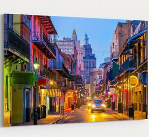 French Quarter New Orleans Art Louisiana USA New Orleans Canvas New Orleans Wall