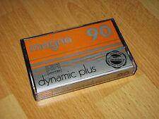 Magna c90 Dynamic plus HiFi Low Noise vintage Audio Tape cassette impecable