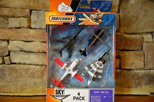 Matchbox-Sky-Busters-4-Pack-MBX-Metal-J4733-Model-Year-2006-Collection