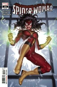 Spider-woman #14 Comic Book 2021 - Marvel 1st Appearance of Rose Roche
