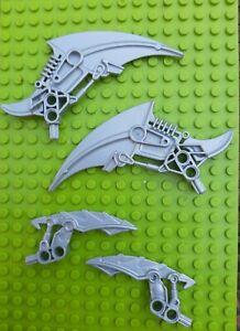 Lego-bionicle-arme-lame-2x-Claw-Antroz-60926-2x-Mahri-Matoran-Lame-57563