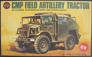 AIRFIX-08368-7-CMP-FIELD-ARTILLERY-TRACTOR-1-35-Modellbausatz-Model-Kit