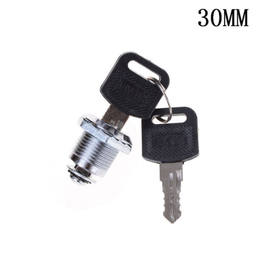 16//20//25//30mm Cam Lock Door Cabinet Mailbox Drawer Cupboard Locker with 2 Key $T