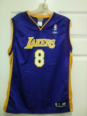 Kobe Bryant #8 Reebok Purple Vintage Jersey Size XL (18-20)   eBay
