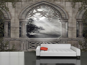 Image Is Loading Gothic Scenery Wall Mural Photo Wallpaper GIANT DECOR